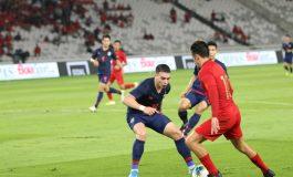 Sempat Imbang pada Babak Pertama, Indonesia Takluk 3 Gol Tanpa Balas dari Thailand