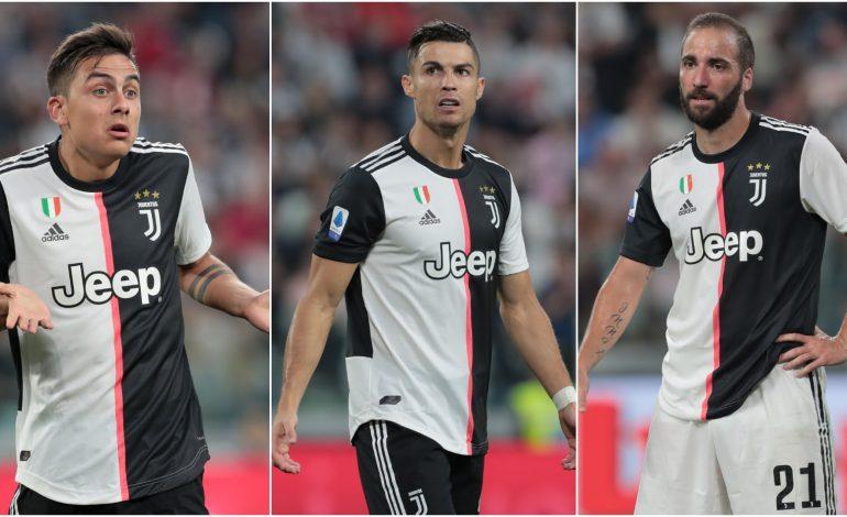 Sarri Bakal Percayakan Lini Depan Juventus kepada Ronaldo, Higuain, Dybala