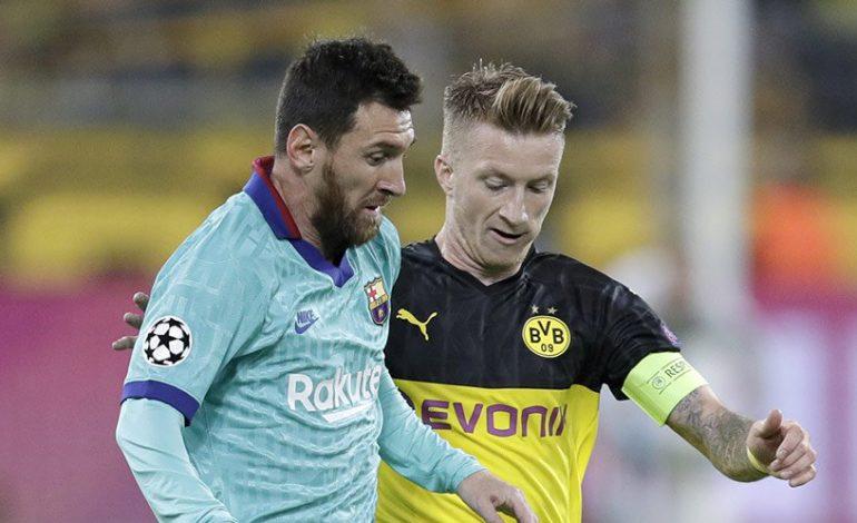 Hasil Pertandingan Borussia Dortmund vs Barcelona: Skor 0-0