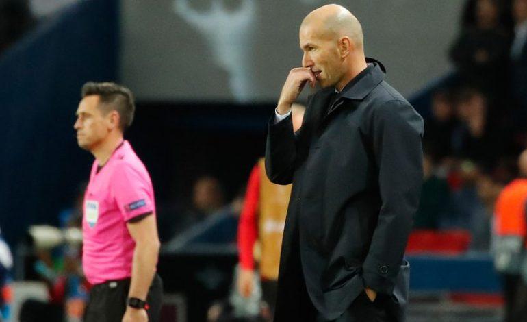 Madrid Kalah Telak dari PSG, Begini Komentar Zidane