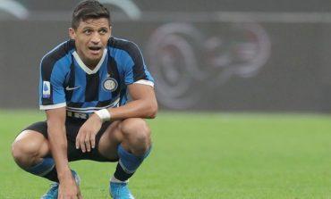 Cedera Parah, Alexis Sanchez Terancam Absen Bela Inter Milan Selama 3 Bulan