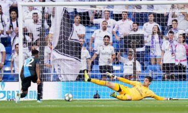 Real Madrid Vs Brugge: Mengapa Courtois Ditarik di Tengah Laga?