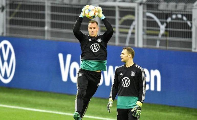 Dapat Kesempatan Geser Neuer, Ter Stegen Malah Kemasukan Dua Gol