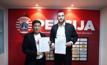 Marko Simic Perpanjang Kontrak di Persija Sampai 2023
