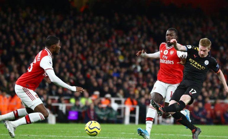 Hasil Pertandingan Arsenal vs Manchester City: Skor 0-3