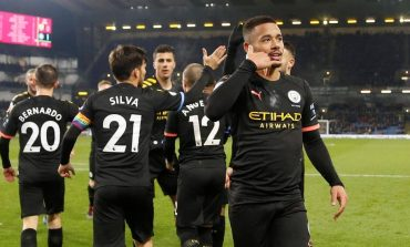 Man of the Match Burnley vs Manchester City: Gabriel Jesus