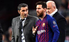 Valverde Tegaskan Ketergantungan Barcelona pada Lionel Messi