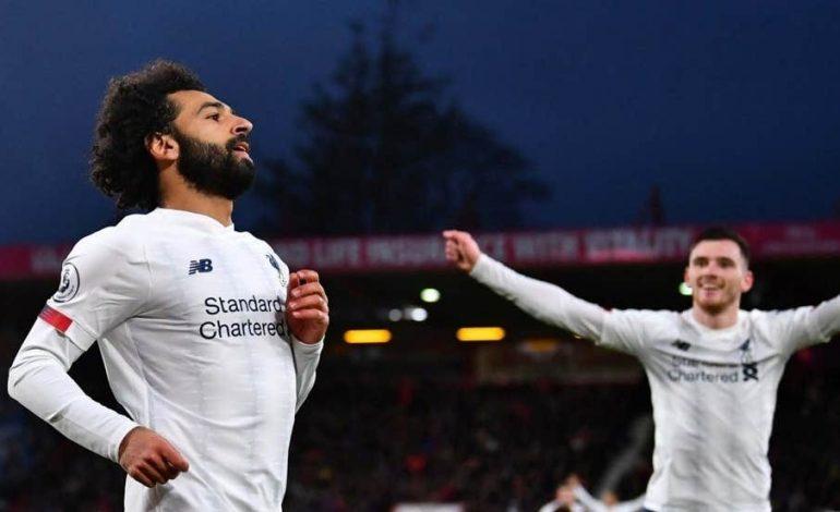Liverpool Gulung Bournemouth Tiga Gol Tanpa Balas