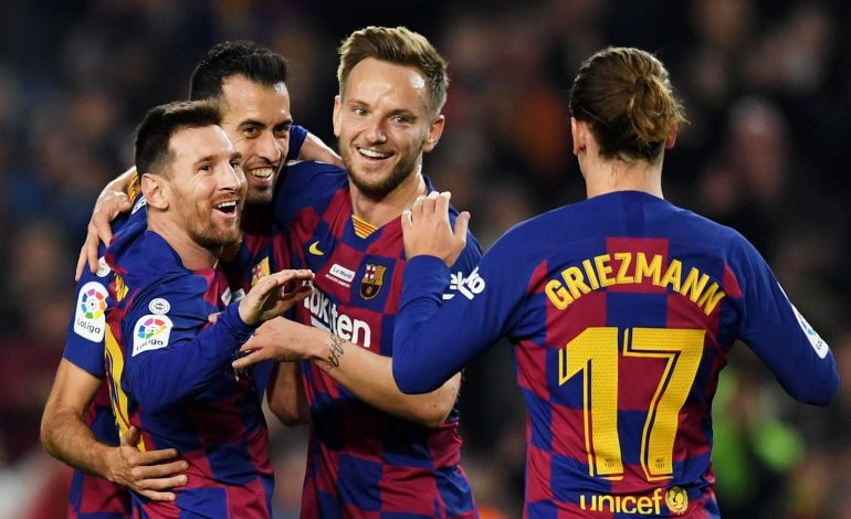 Lionel Messi Cetak Hattrick, Barcelona Sikat Real Mallorca