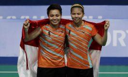 Menang Mudah dari Pasangan Thailand, Greysia/Apriyani Raih Medali Emas
