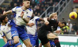 Hasil Pertandingan AC Milan vs Sampdoria: Skor 0-0