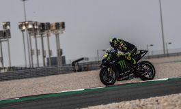 Ban Jadi Penyebab Valentino Rossi Kecelakaan di Hari Ketiga Tes MotoGP Qatar