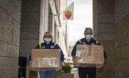 AS Roma Sumbang 13 Ribu Masker ke Rumah Sakit
