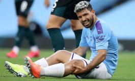 Cedera Lutut, Sergio Aguero Terbang ke Barcelona
