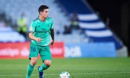 Jarang Dimainkan, James Rodriguez Penasaran Isi Otak Zinedine Zidane