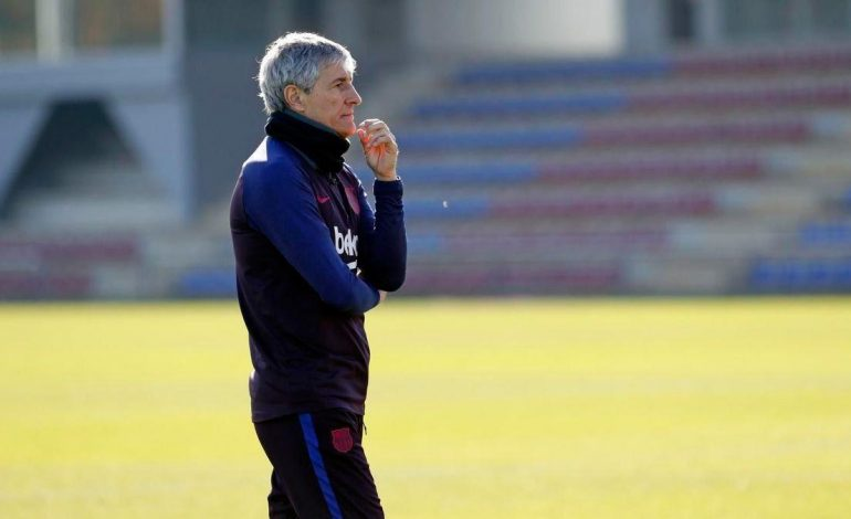 Ribut dengan Pemain, Quique Setien Terancam Dipecat Barcelona