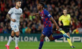 Nyaman di Barcelona, Ansu Fati tak Bakal Hengkang ke Manchester United