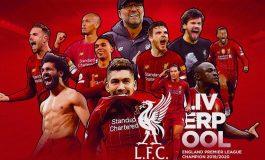 Selamat! Liverpool Resmi Kunci Gelar Juara Premier League 2019/20