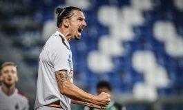 2 Gol Zlatan Ibrahimovic Bawa AC Milan Tembus Zona Liga Europa