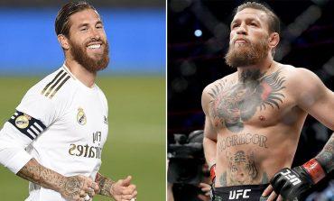 Sergio Ramos Ajak Conor McGregor Latihan di Real Madrid