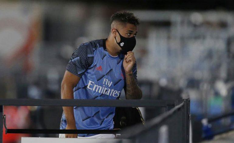 Striker Real Madrid Mariano Diaz Positif Covid-19