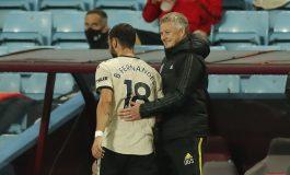 MU Pesta Gol atas Aston Villa, Solskjaer: Kami Beruntung