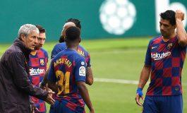 Quique Setien Tak Puas Barcelona Hanya Menang Tipis atas Espanyol
