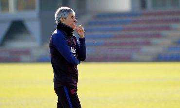 Barcelona Gagal Juara, Quique Setien Tak Yakin Dipertahankan