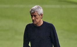 Barcelona Diimbangi Atletico Madrid, Quique Setien: Titel Menjauh dari Kami