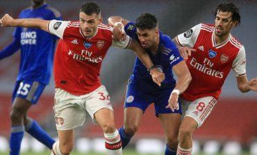 Hasil Pertandingan Arsenal vs Leicester: Skor 1-1