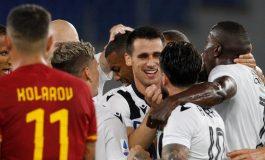 Hasil Pertandingan AS Roma vs Udinese: Skor 0-2