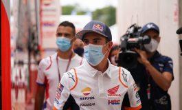 Lama Tak Muncul, Marc Marquez Terlihat di GP Catalunya
