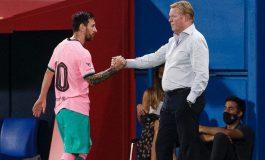 Wah, Leo Messi Terlihat Tidak Nyaman di Barcelona