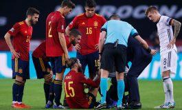 Sergio Ramos Cedera Hamstring, Absen di Tiga Laga