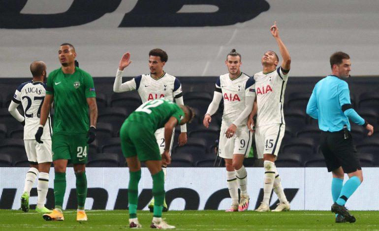 Tottenham Hotspur Bungkam Ludogorets 4-0