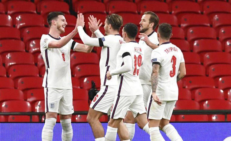 Tutup Kiprah di UEFA Nations League, Inggris Hajar Islandia 4-0