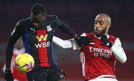Arsenal vs Crystal Palace Tuntas Tanpa Pemenang