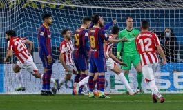 Hasil Pertandingan Barcelona vs Athletic Bilbao: Skor 2-3