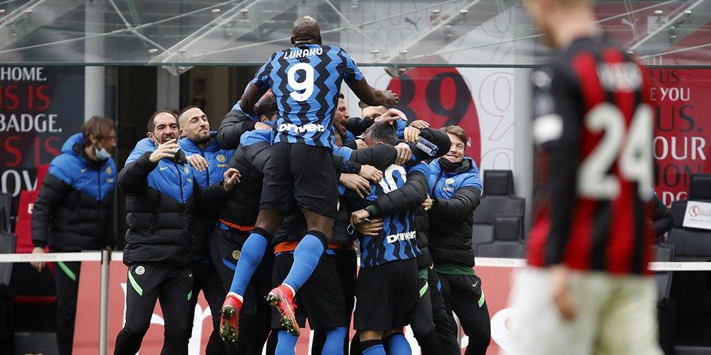 Hasil Pertandingan AC Milan vs Inter Milan: Skor 0-3