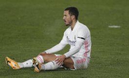 Eden Hazard Terancam Absen dari Piala Eropa Akibat Cedera