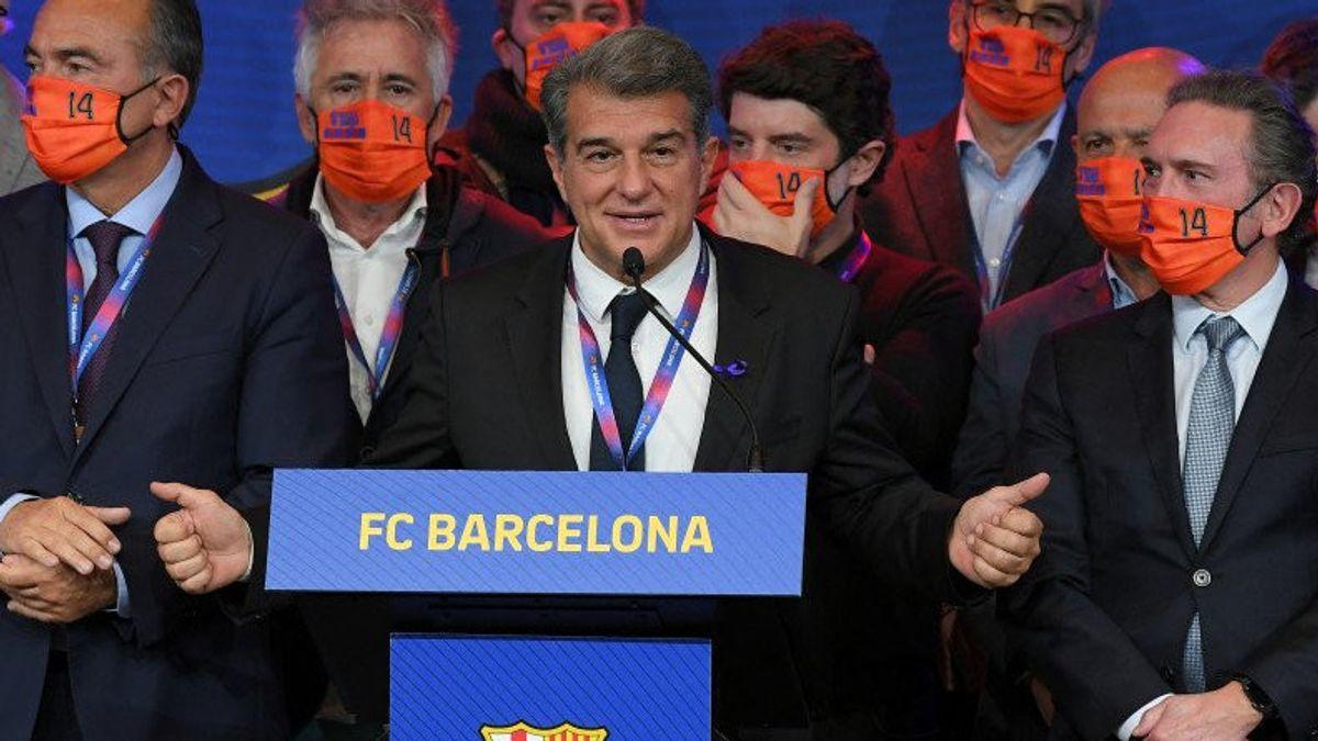 Joan Laporta Resmi Terpilih Menjadi Presiden Baru Barcelona