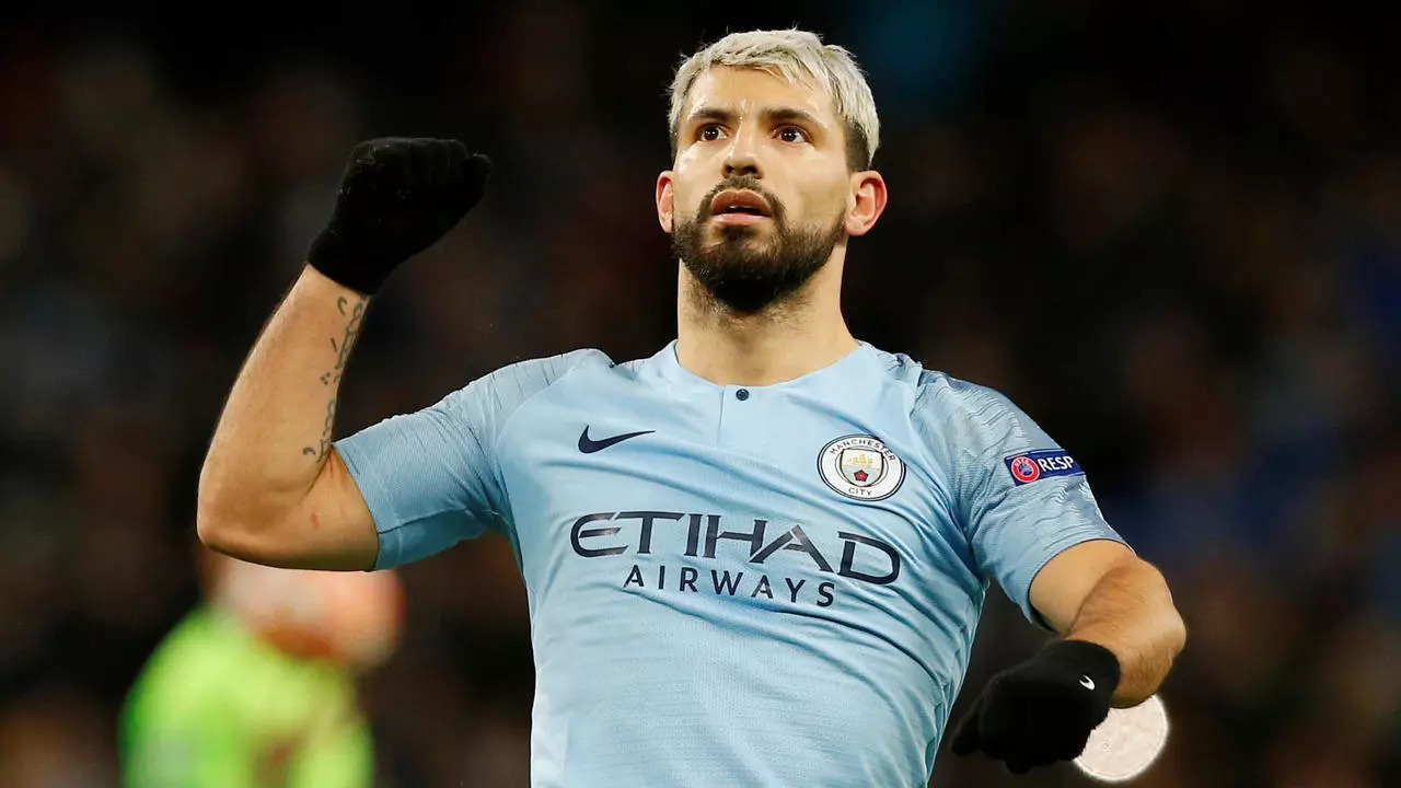Manchester City Akan Bangun Patung Sergio Aguero di Etihad