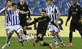 Real Sociedad vs Barcelona: Blaugrana Berpesta Gol 6-1