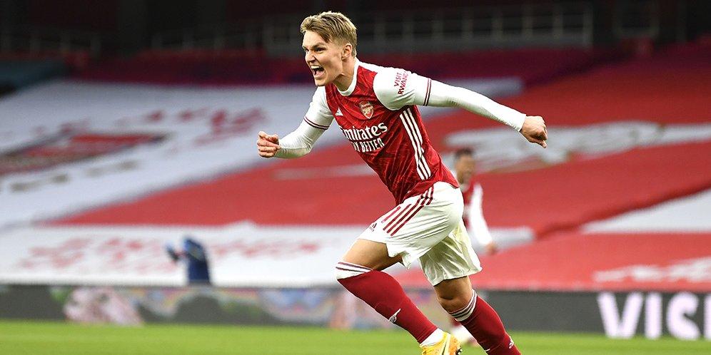 Arsenal Upayakan Transfer Permanen Martin Odegaard