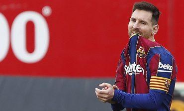 Luar Biasa Messi, Jago Tendangan Bebas Meski tak Pernah Mengasahnya di Sesi Latihan