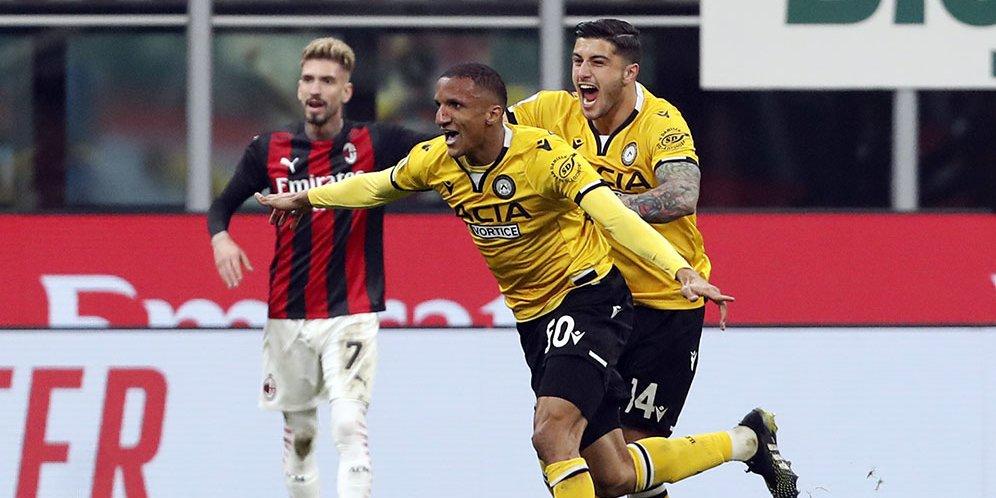 Hasil Pertandingan AC Milan vs Udinese: Skor 1-1