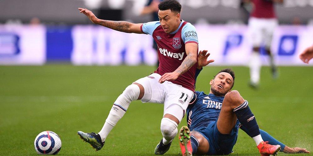 Hasil Pertandingan West Ham vs Arsenal: Skor 3-3