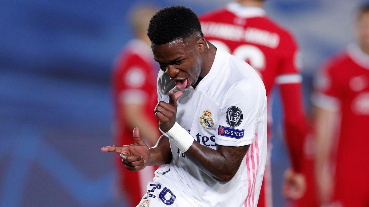 Real Madrid vs Liverpool: Vinicius 2 Gol, Los Blancos Menang 3-1
