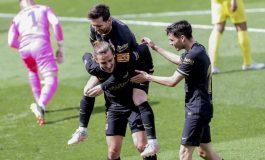 Hasil Pertandingan Villarreal vs barcelona: Skor 1-2
