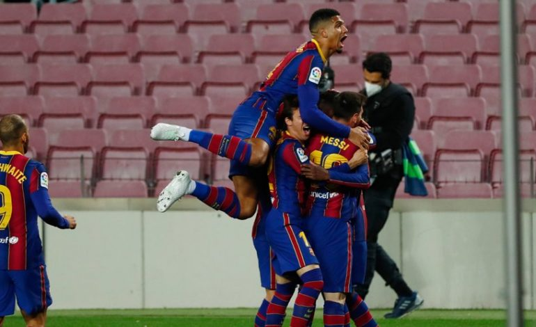 Hasil Pertandingan Barcelona vs Real Valladolid: Skor 1-0
